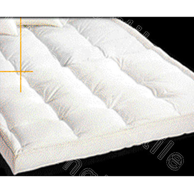 topper fusion mattress gel memory main top foam pillow thick