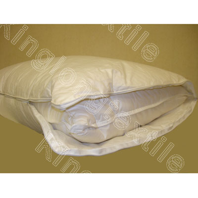 Adjustable L Zipper Down Or Polyester Filled Pillow